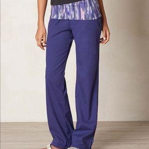 Prana Organic Cotton Indigo Sidra Pants